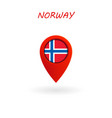location icon for norway flag eps file vector image vector image