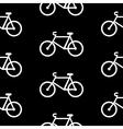 Bike symbol seamless pattern vector image