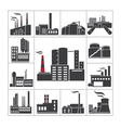 Factory and industry vector image vector image