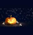 happy halloween holiday banner vector image vector image