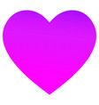 heart icon in trendy style vector image vector image