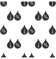 humidity icon seamless pattern on white background vector image vector image