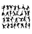 modern dancer vector image