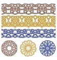 ornaments for design vector image vector image
