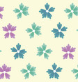 spring flowers ornament seamless floral pattern vector image vector image