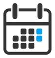 Calendar Weekend Icon vector image vector image
