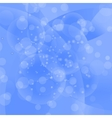 Circle Blue Light Background vector image