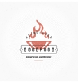 Grill Hand DrawnDesign Element in Vintage Style vector image vector image
