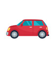 hatchback automobile icon vector image vector image