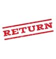 Return Watermark Stamp vector image
