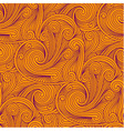 Seamless engraving pattern vector image vector image