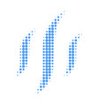 vapor halftone dotted icon vector image