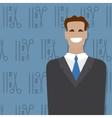 Businessman people occupation vector image