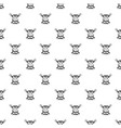 beef steaks pattern seamless vector image vector image