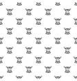 beef steaks pattern seamless vector image vector image