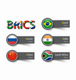 Brics association of 5 countries