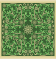 Green bandana image