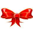 Isolated Red Ribbon vector image