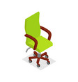 office armchair isometric 3d icon vector image