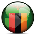Republic of Zambia vector image vector image