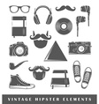 Retro hipster elements vector image vector image