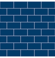 Snorkel Blue Brick Wall vector image