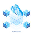 cloud computing concept 05 vector image