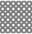 Design seamless monochrome tetragon pattern vector image vector image