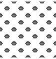 grill menu pattern seamless vector image