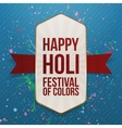 Holi indian Festival of Color Banner vector image