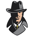 private detective vector image vector image
