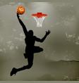street basketball 02 vector image vector image