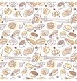 Sushi hand drawn vector image vector image