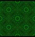 bohemian geometrical seamless mandala flower vector image vector image