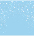 christmas banner background with snowflakes vector image vector image