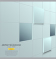 cubes background 2 vector image vector image