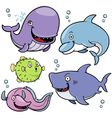 Sea animal vector image vector image