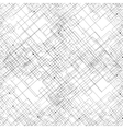 Seamless pattern with connected lines and dots vector image