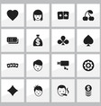 set of 16 editable excitement icons includes vector image vector image