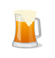 tankard of beer isolated icon vector image vector image