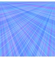 Abstract blue background of radial rays vector image