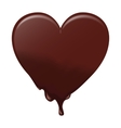 Chocolate heart melts Suitable for Valentines vector image