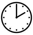 Clock 2 vector image vector image