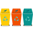 Eco trash vector image