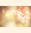 happy new year abstract greeting background vector image