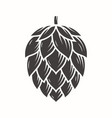 hop emblem icon label logo vector image vector image