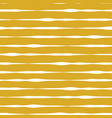horizontal lines seamless pattern mustard vector image vector image