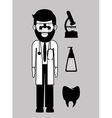 occupational medicine vector image
