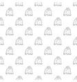 orangutan pattern seamless vector image