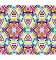 Painted Kaleidoscope Star Pattern vector image vector image